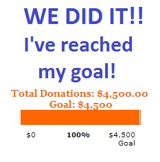 I did it - goal reached