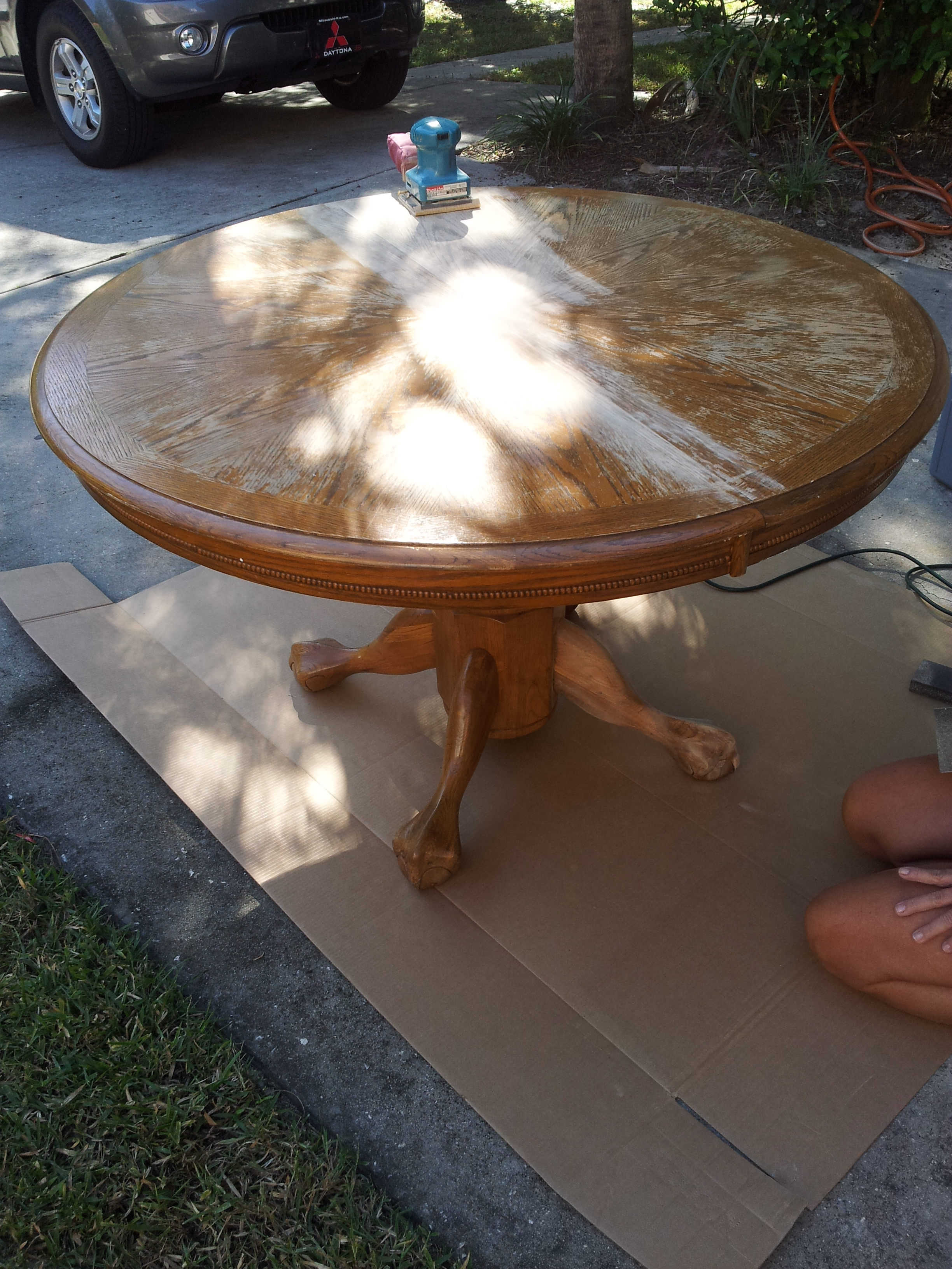 Thrifty Thursday: My Thrift Store Dining Set | Meghan on the Move