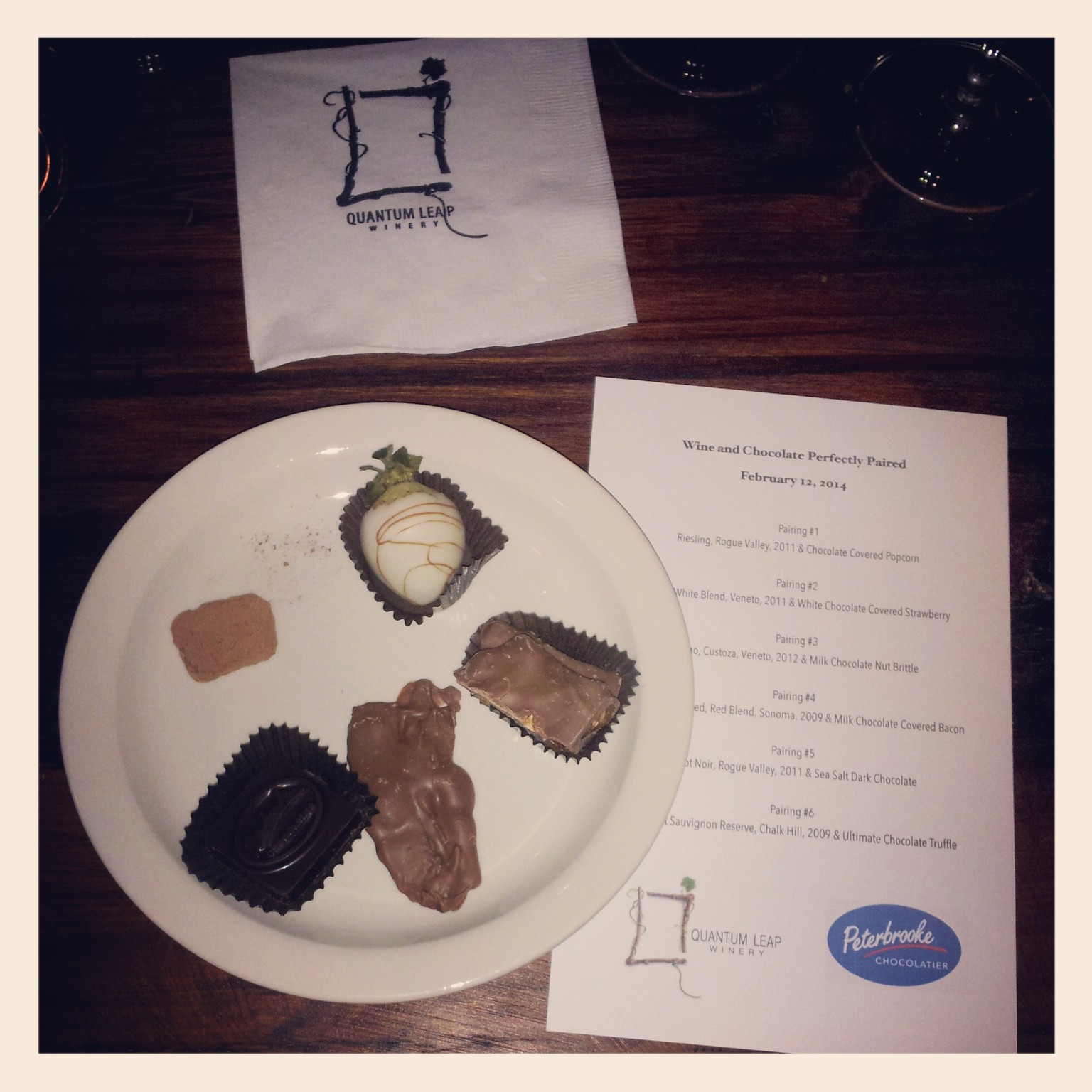 Wine & Chocolate Perfectly Paired