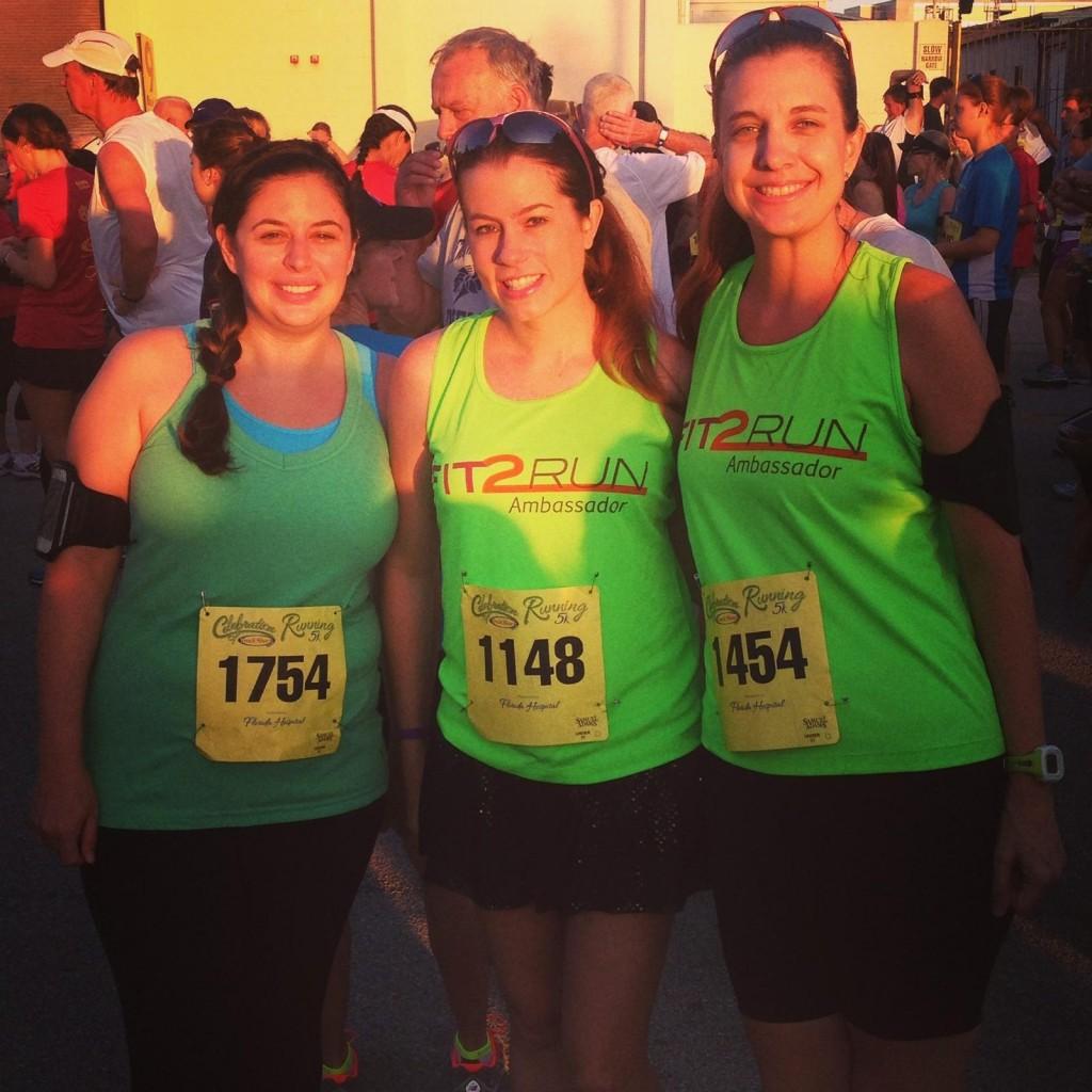 Celebration of Running 5k Fit2Run Ambassadors Best Damn Race