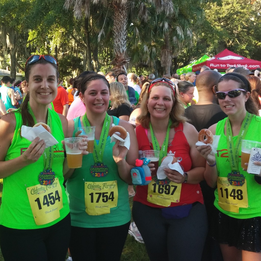 Celebration of Running 5k Fit2Run Ambassadors Best Damn Race