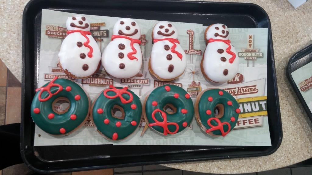 Krispy Kreme Tasting