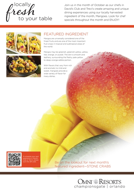 Ingredient of the Month - Omni Championsgate