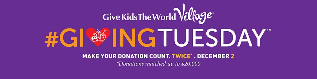 Volunteering at Give Kids the World #GivingTuesday