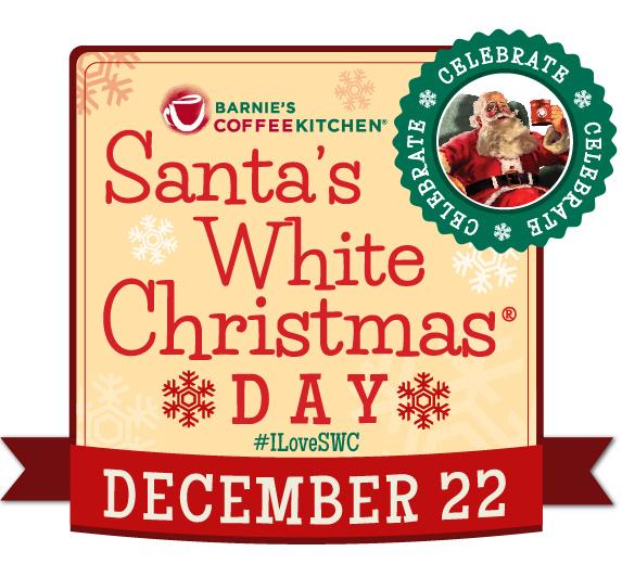 December 22 is Santa's White Christmas Day