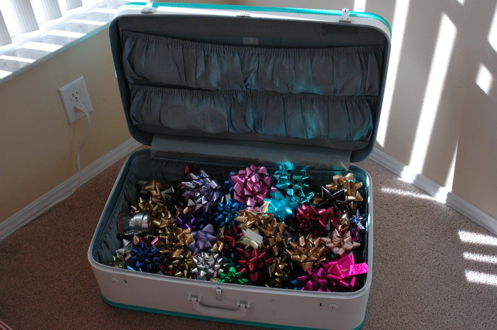Thrifty Thursday - a new use for suitcases