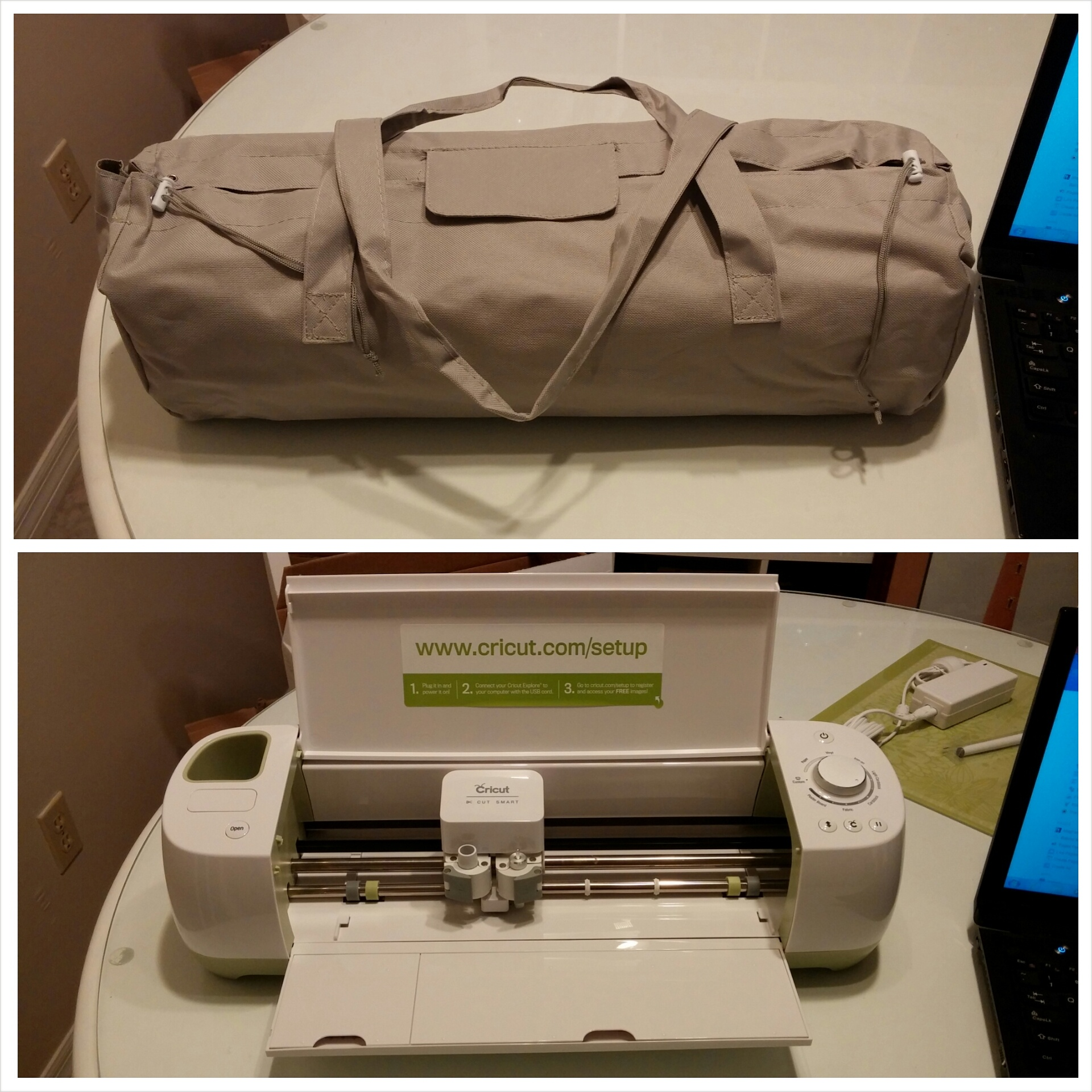 Cricut Creations – My first project! | Meghan on the Move