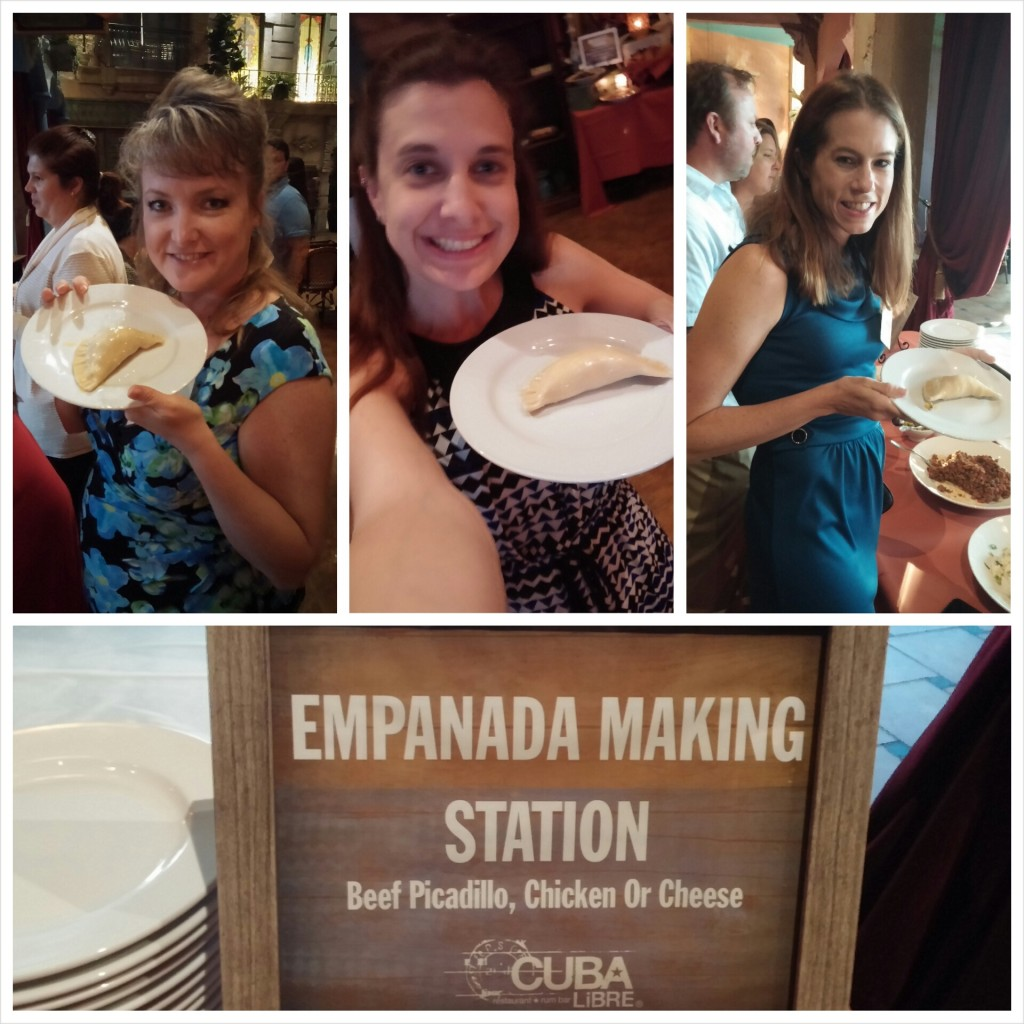 Empanada Making at Cuba LIbre Orlando