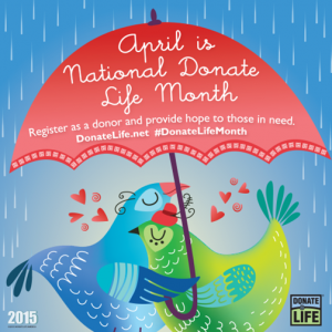 2015 National Donate Life Month