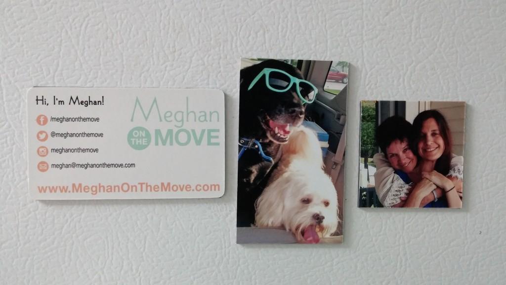30 day creative challenge - photo magnets