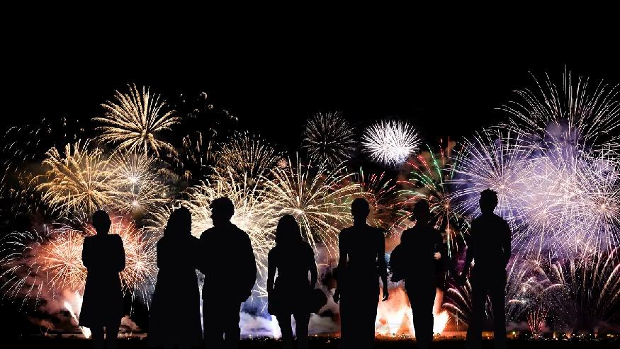 Fireworks at Omni ChampionsGate