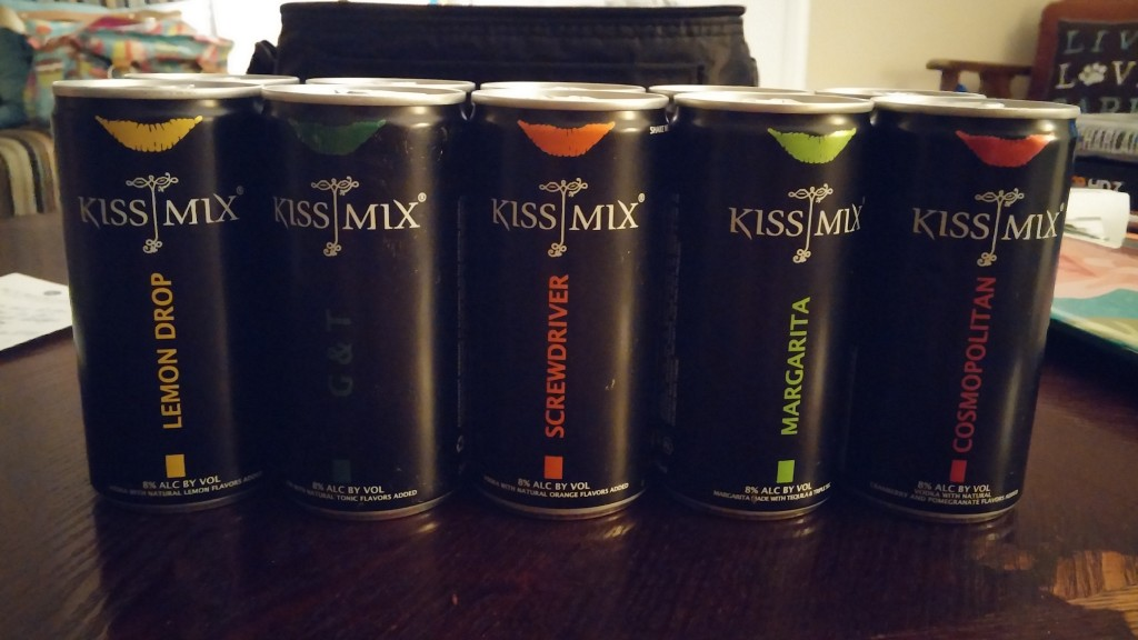 Kiss Mix Cocktails on the Go