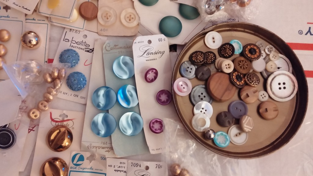 Crafty Fun with Vintage Buttons
