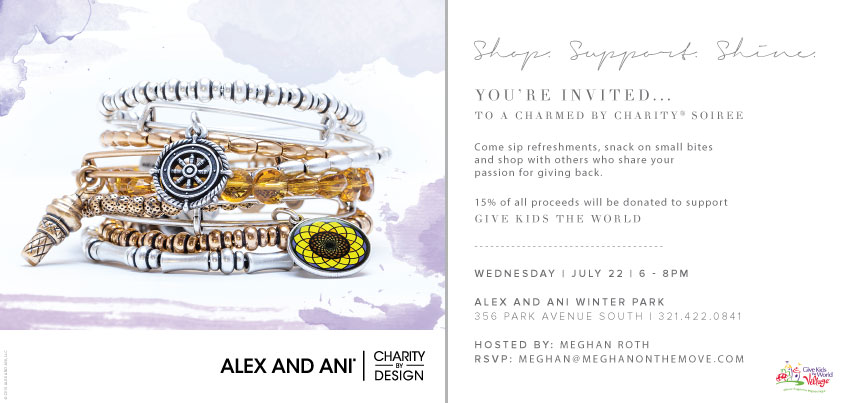 Alex and Ani Charmed By Charity Event