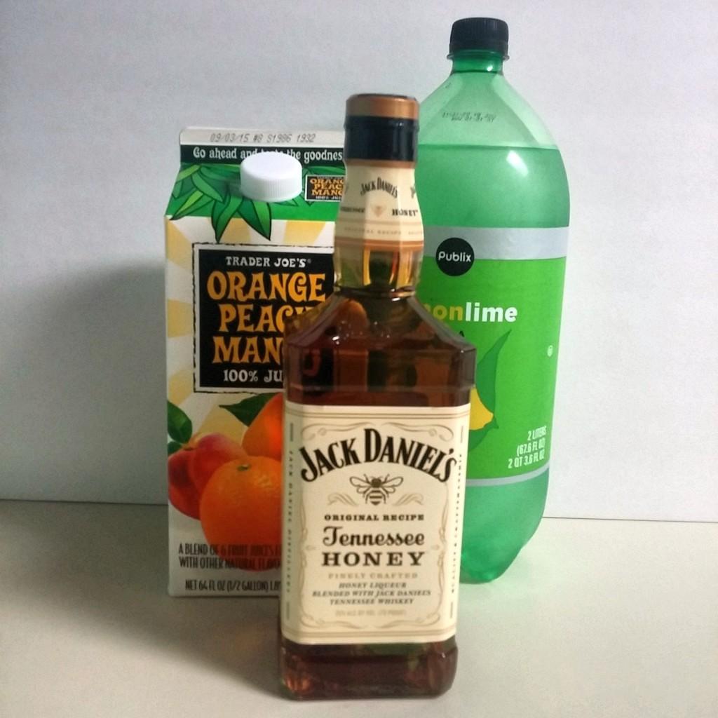 Tropical Whiskey Sparkler