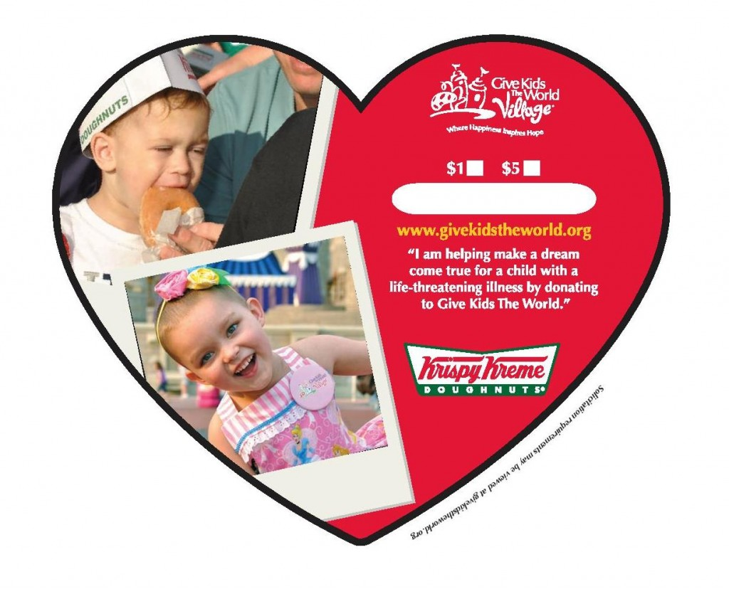 Krispy Kreme Supports Kids' Sweet Dreams