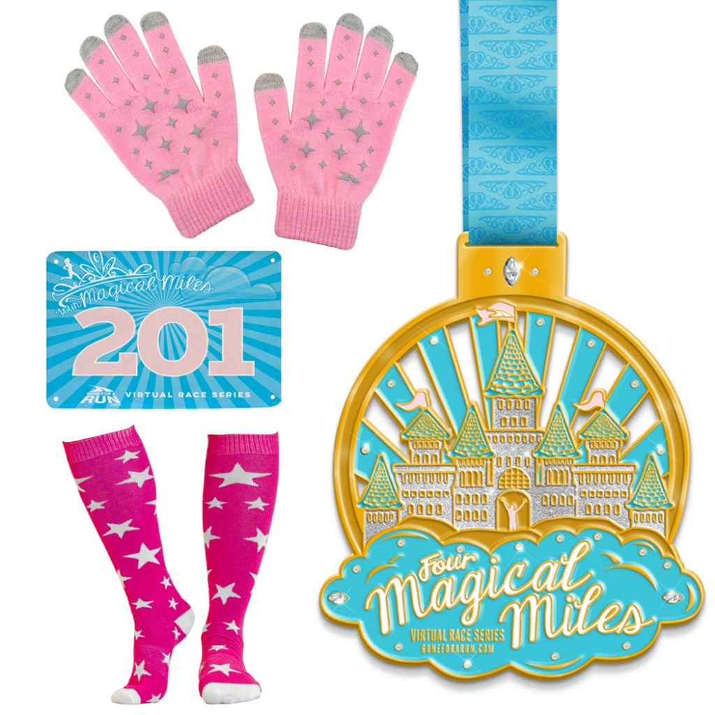 Four Magical Miles Virtual 4 Mile Race