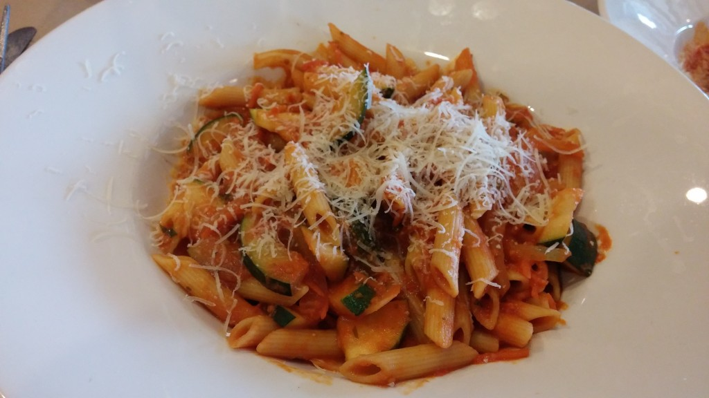 Pasta at Portobello - Carb Loading at Disney Springs