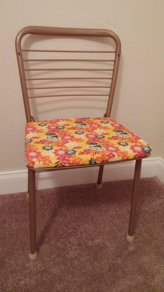 Retro Folding Chair Redo