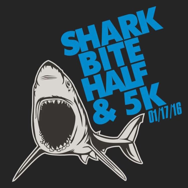 1st Race of 2016 - Shark Bite Half Marathon