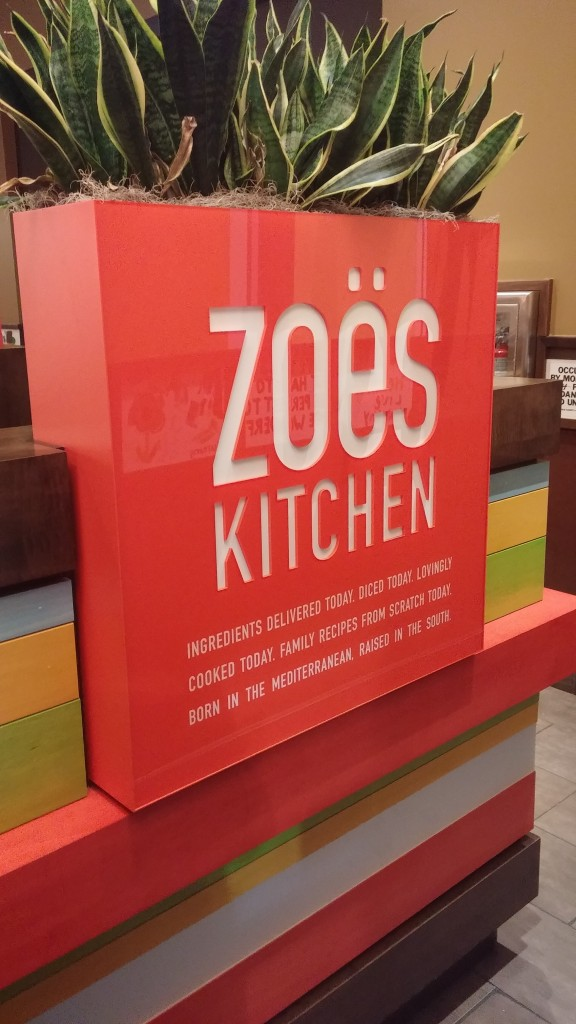 Local Love: Zoe's Kitchen