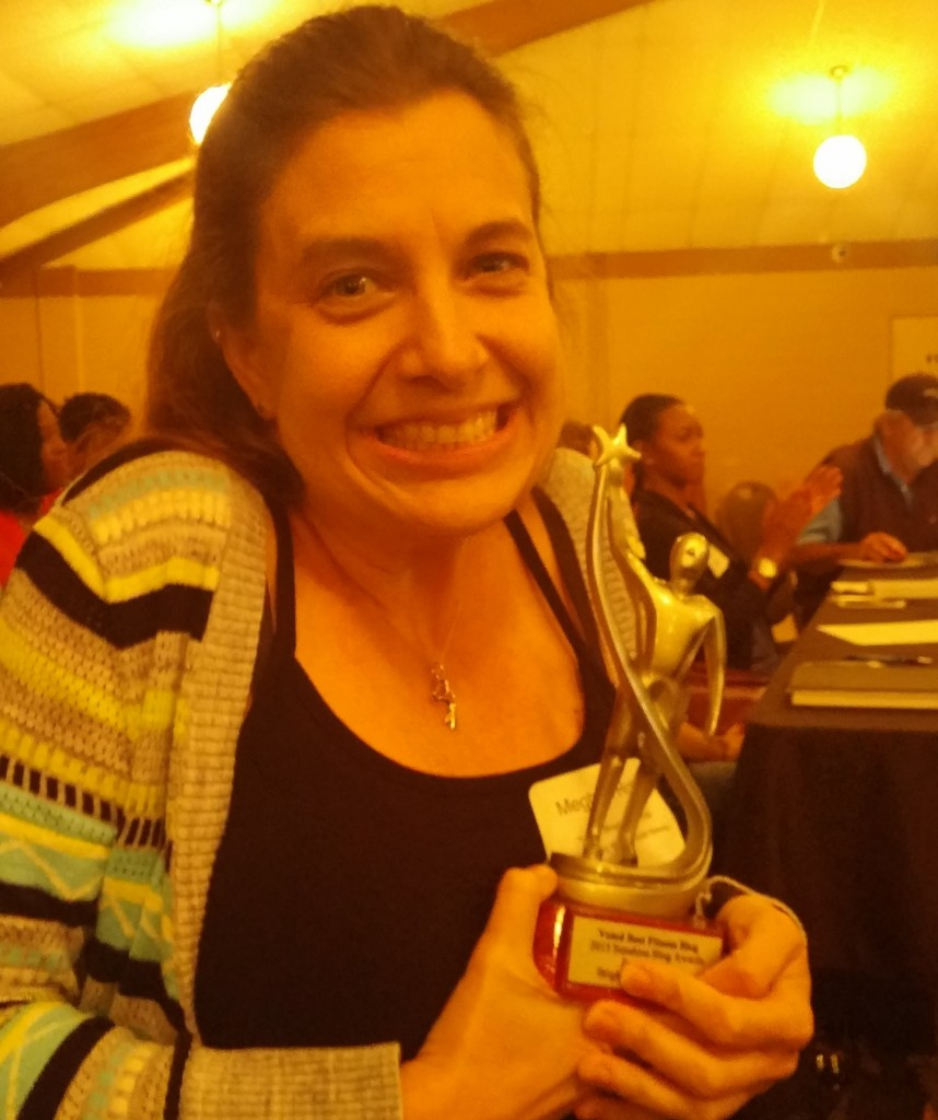 Guess who won another Sunshine Blog Award?