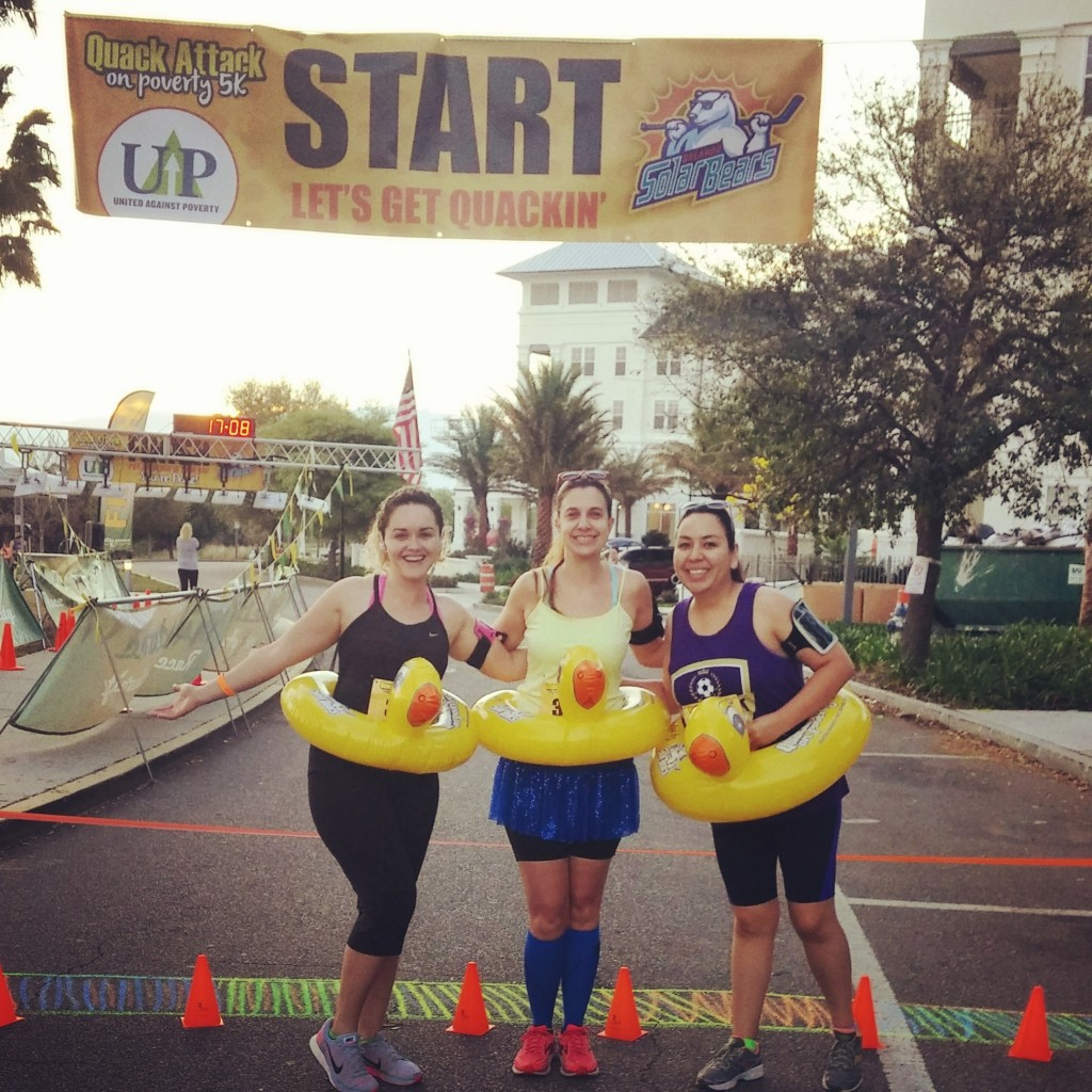 Race #5 of 2016: Quack Attack 5k - Orlando, FL