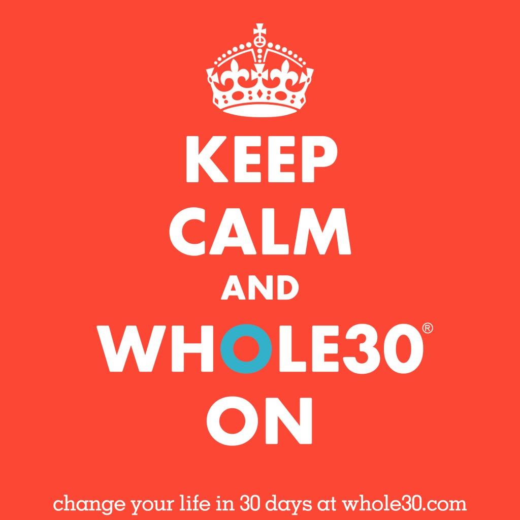 Yesterday I started Whole30!