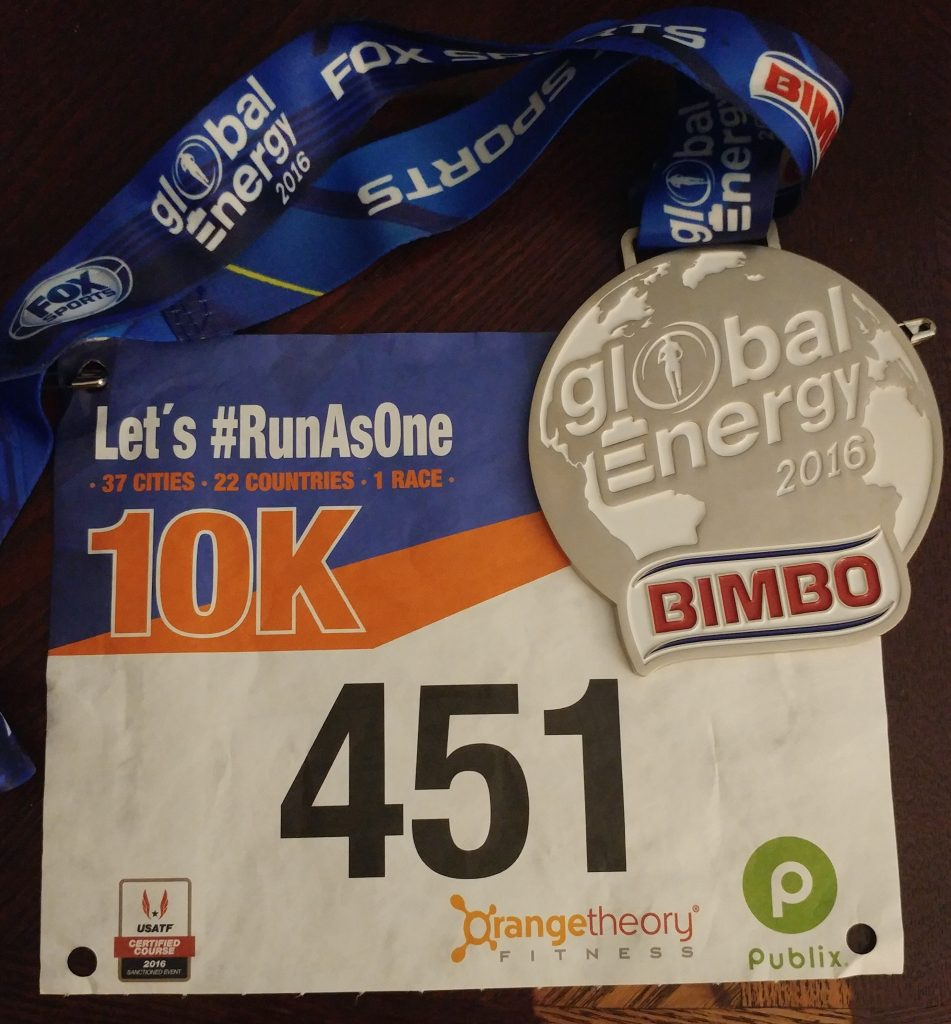 Race #9 of 2016: Global Energy 10k #16in16