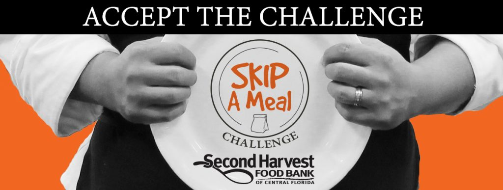 Second Harvest Food Bank of Central Florida Skip a Meal Challenge