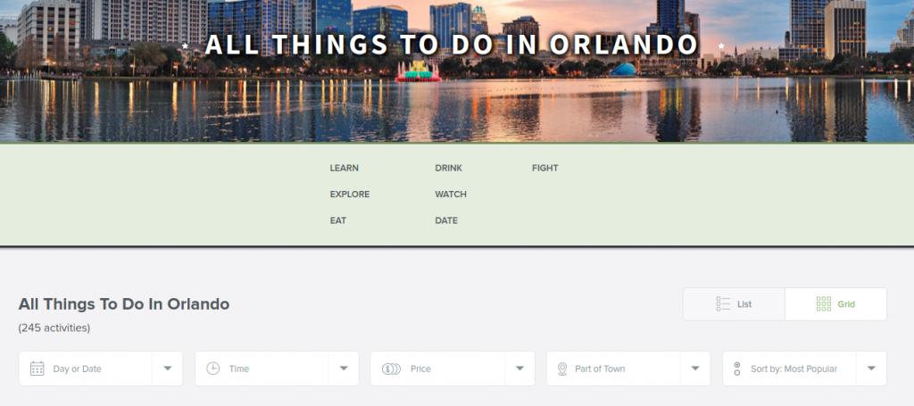 Explore Orlando with Vimbly.com