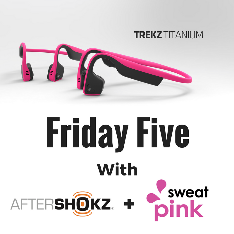 #AwareWithPink Friday Five