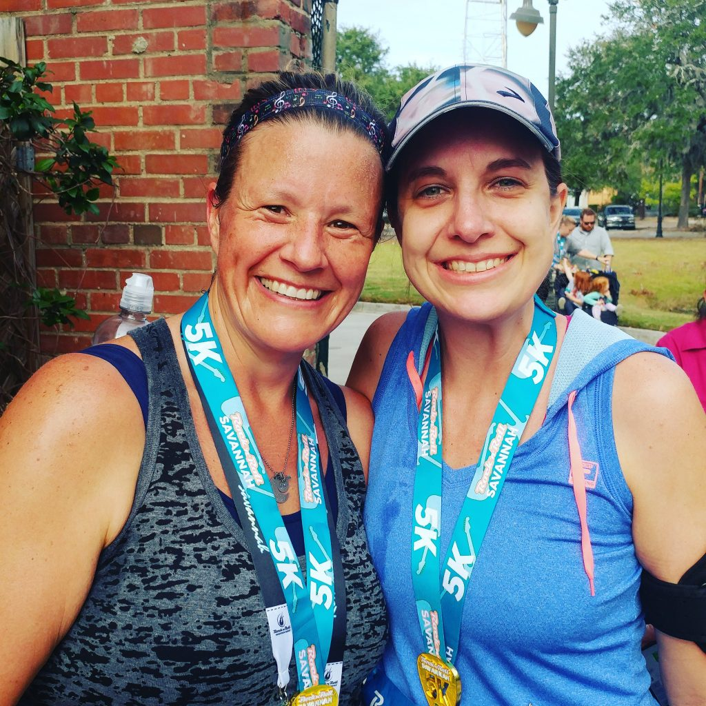 Race #11 and #12 of 2016: Rock n Roll Savannah 5k and 1 mile