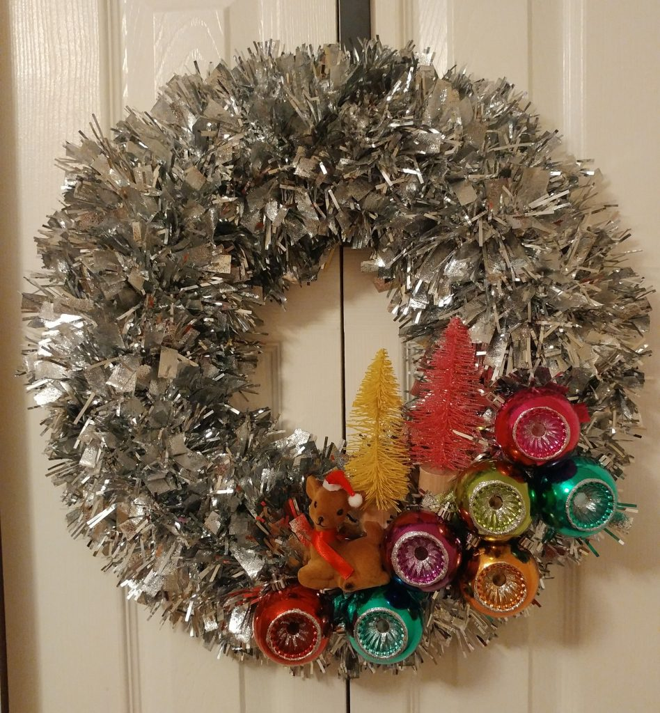 From Pinterest to Projects: DIY Mid Century Style Wreath