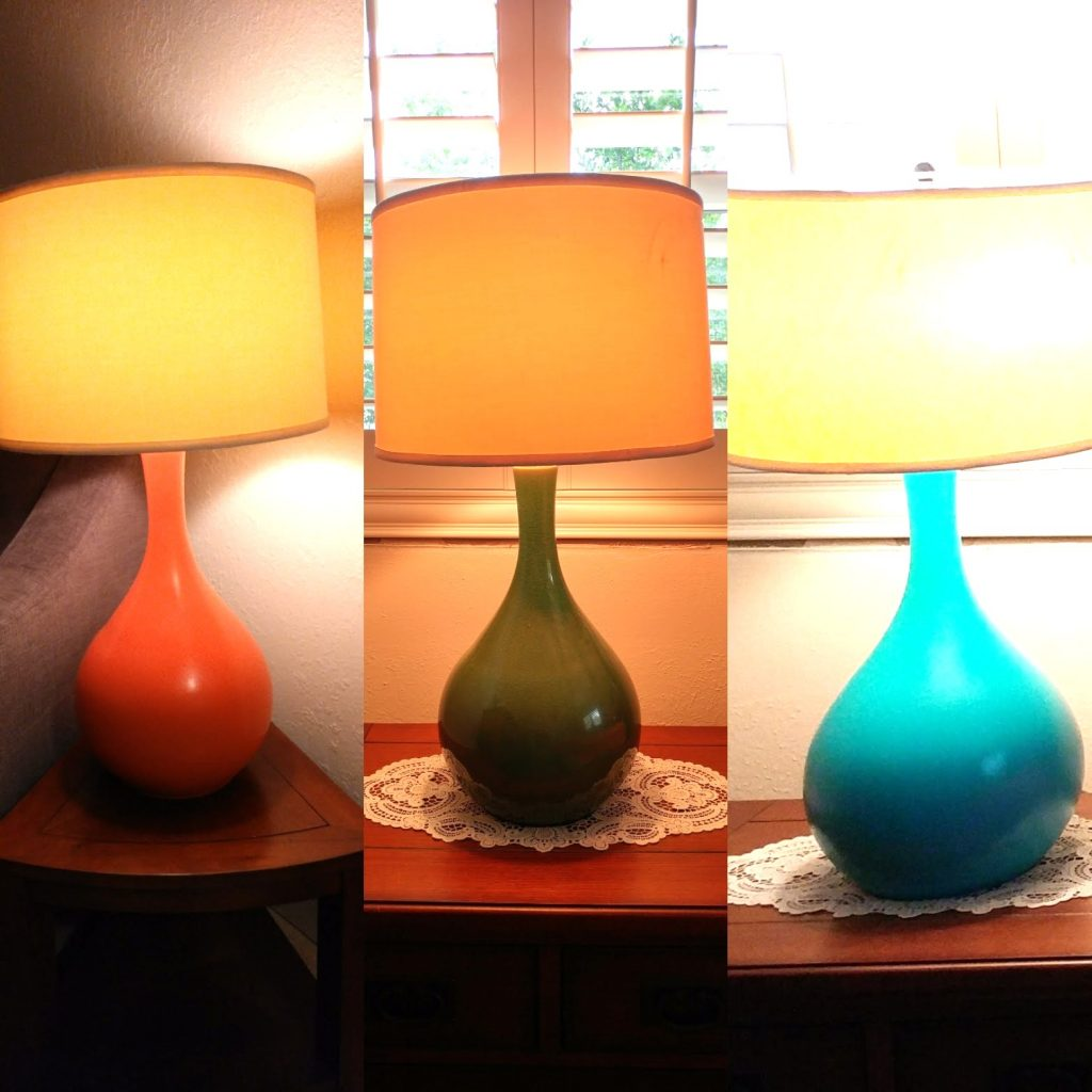 DIY Mid-Century Modern Lamps