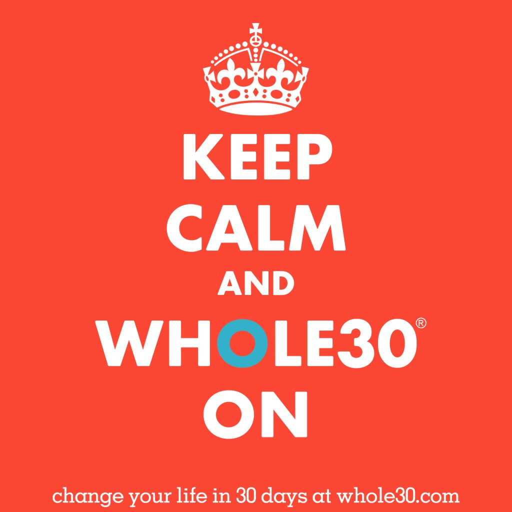 Yesterday I started Whole30... again!