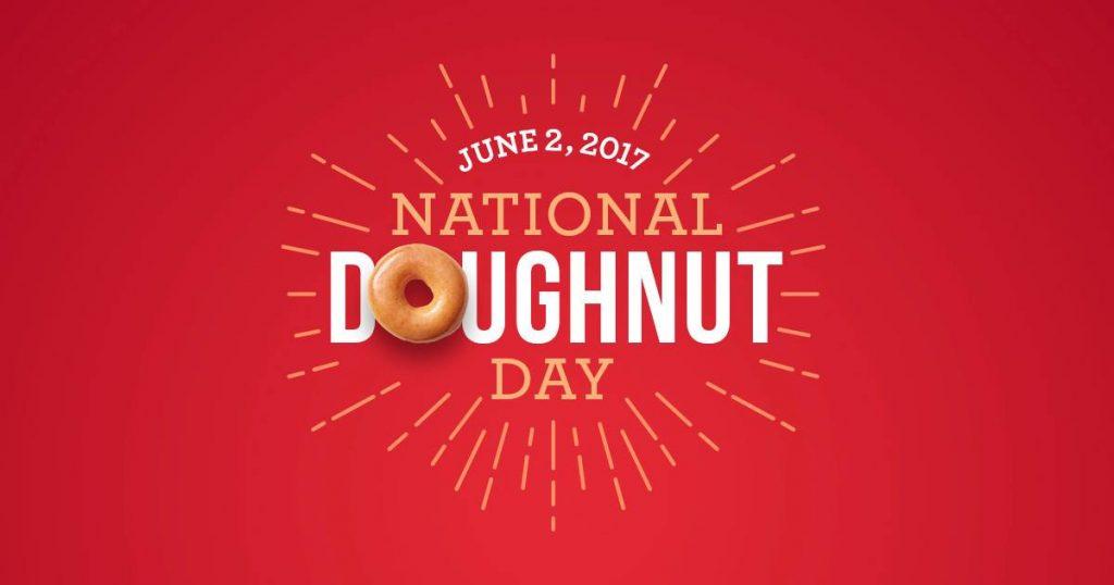 Celebrate National Doughnut Day with Krispy Kreme