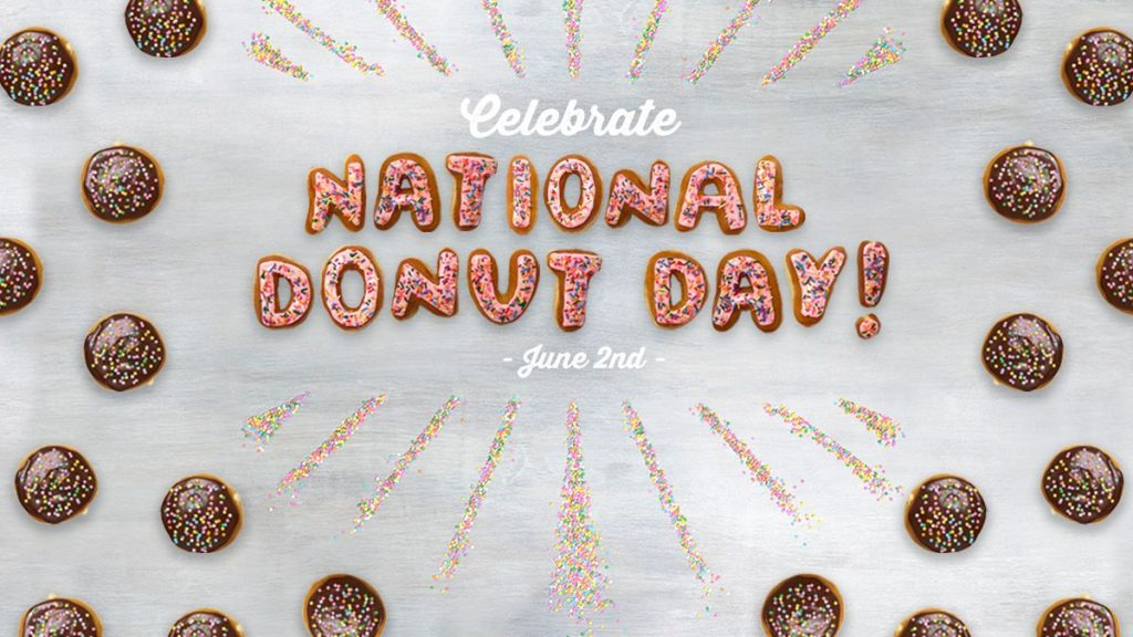 Where to get FREE Doughnuts on National Doughnut Day!
