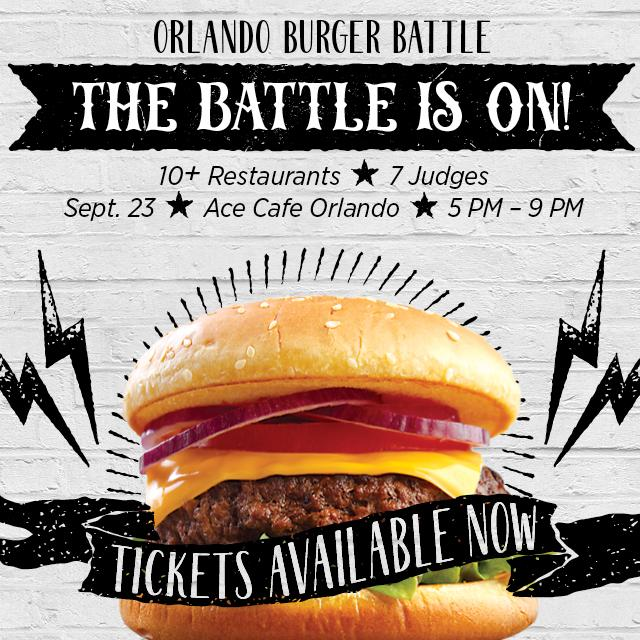 2017 Orlando Burger Battle - The Battle is ON!
