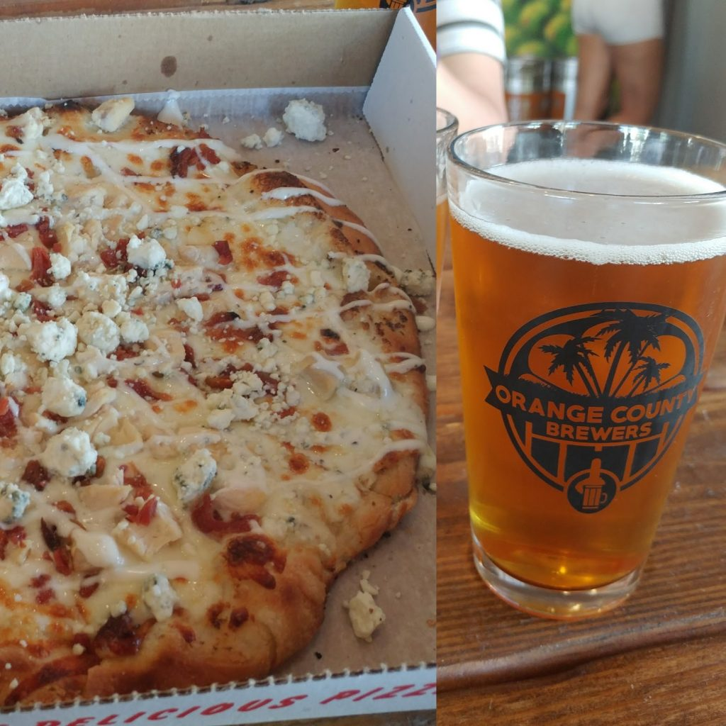 Today is National Pizza & Beer Day!