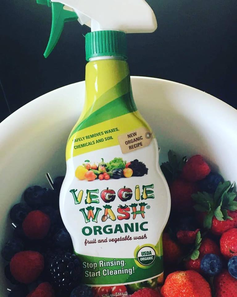 Stop Rinsing, Start Cleaning Your Fruits & Vegetables with Veggie Wash
