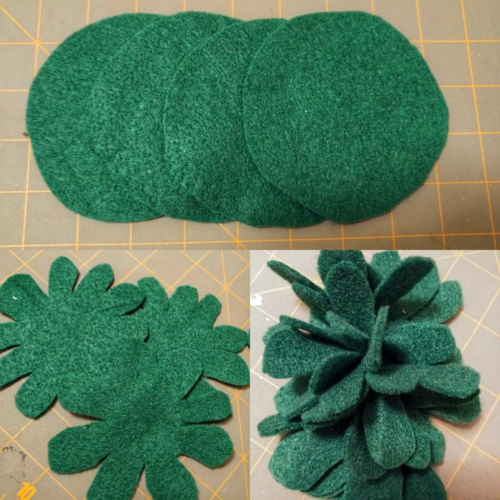 From Pinterest to Projects: Mistletoe Headband