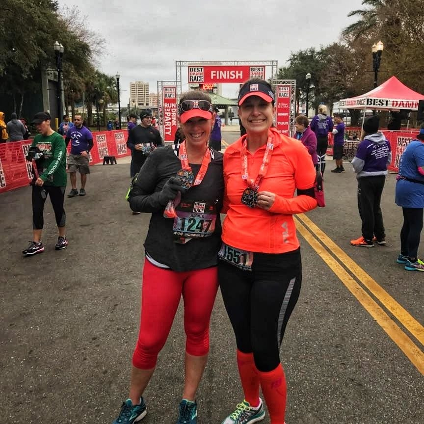 Race #1 of 2018 - Best Damn Race Jacksonville 10k