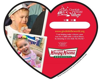 Krispy Kreme Doughnuts Supports Kids' Sweet Dreams