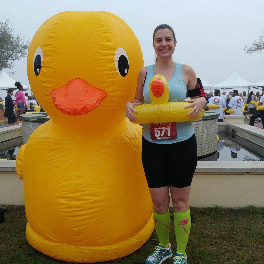Race #5 of 2018 - Quack Attack on Poverty 5k