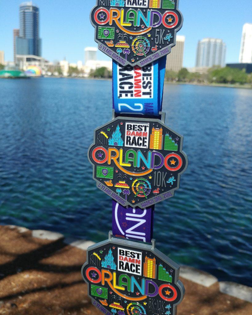 Race #6 and #7 - Best Damn Race Orlando Challenge