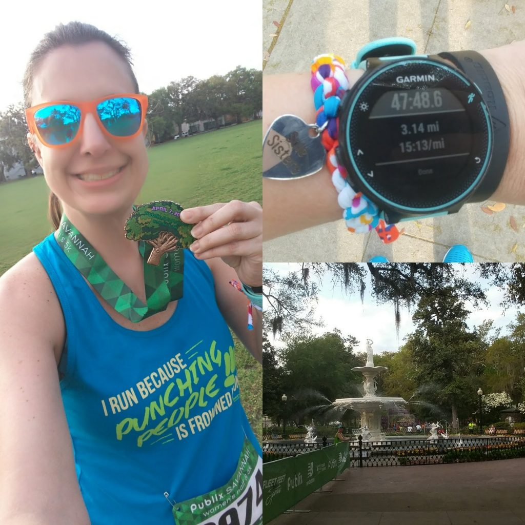 Race #8 - Publix Savannah Women's Half & 5k