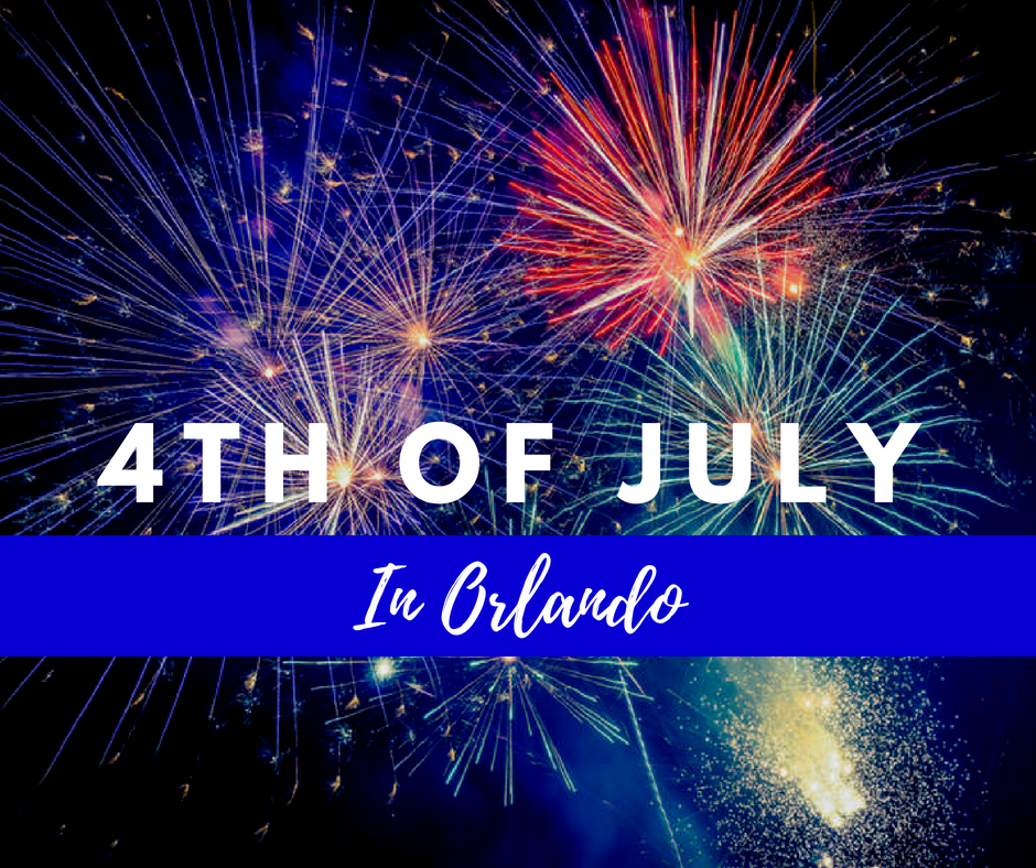 Celebrating the Fourth of July in Orlando