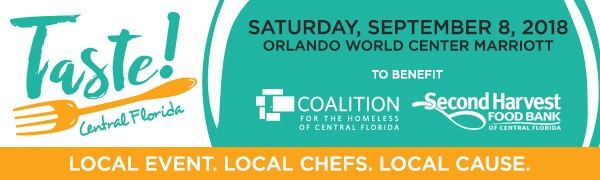 Save the Date - Taste! Central Florida: September 8