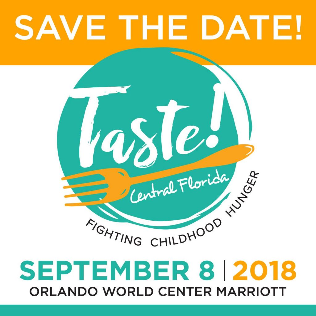 Taste! Central Florida Benefits Two Local Charities